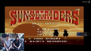 sunsetriders gameplay complet