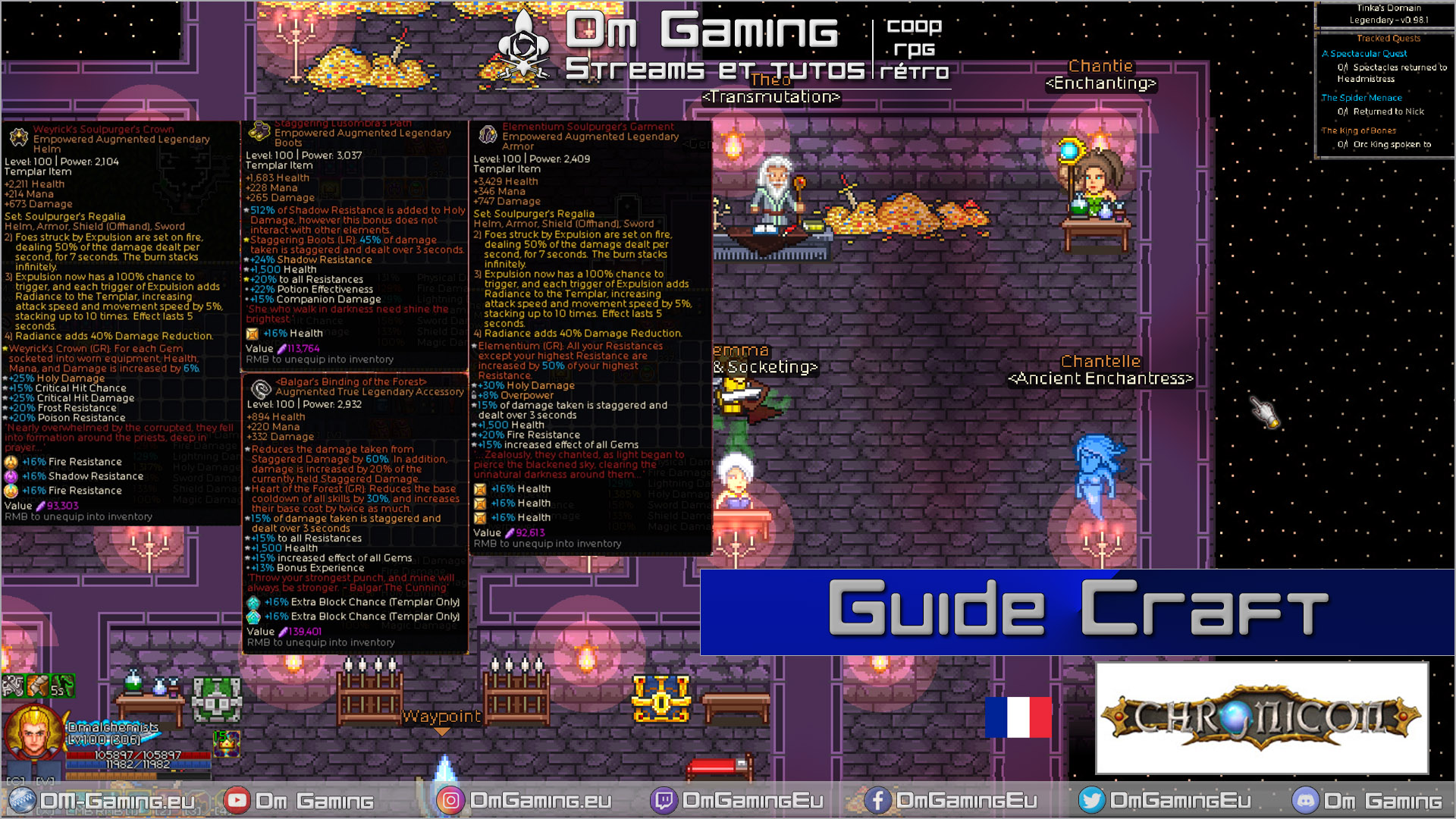 guide compelt craft chronicon