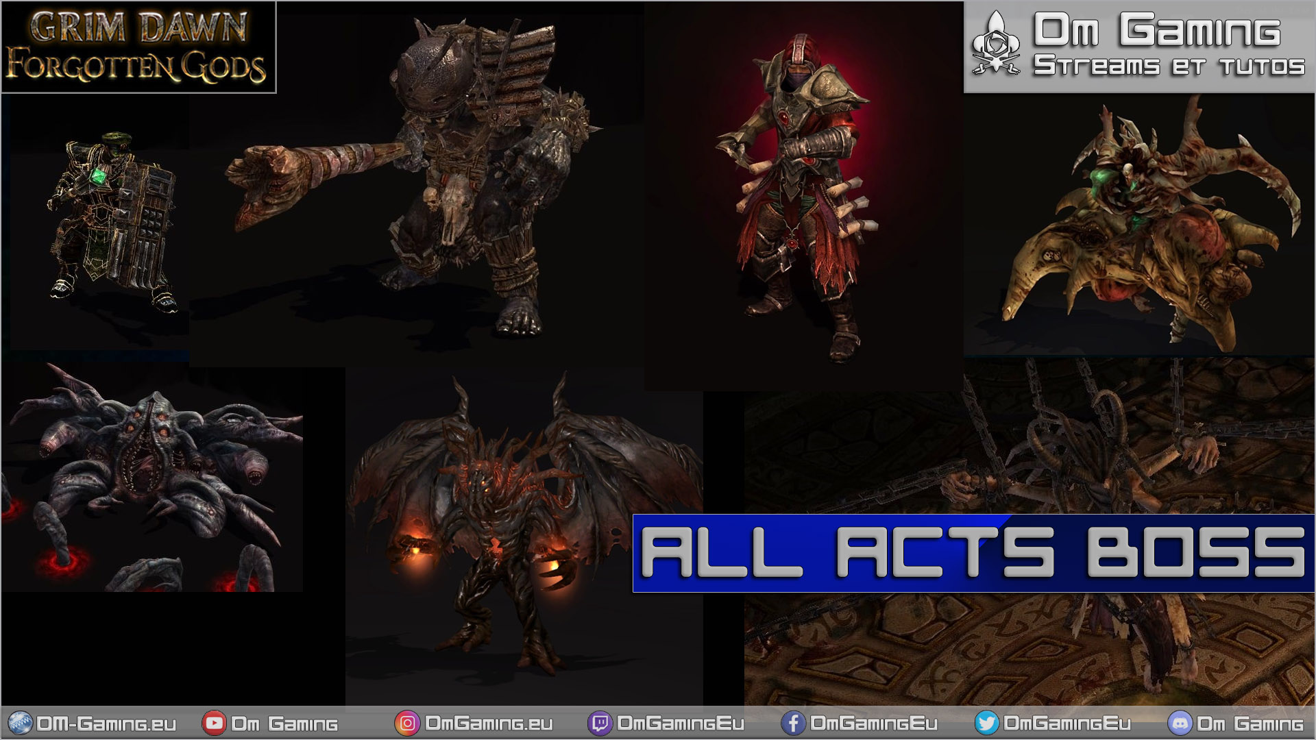 all act bosses on grim dawn