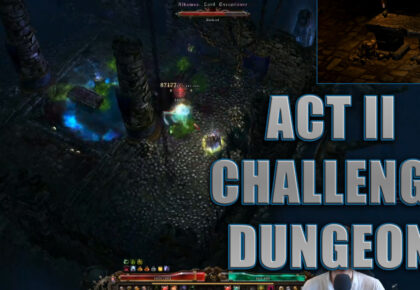 Act 2 Challenge Dungeon Steps of Torment