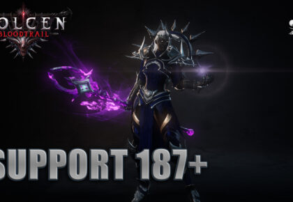 Build support Wolcen Bloodtrail 1.1.0 187+