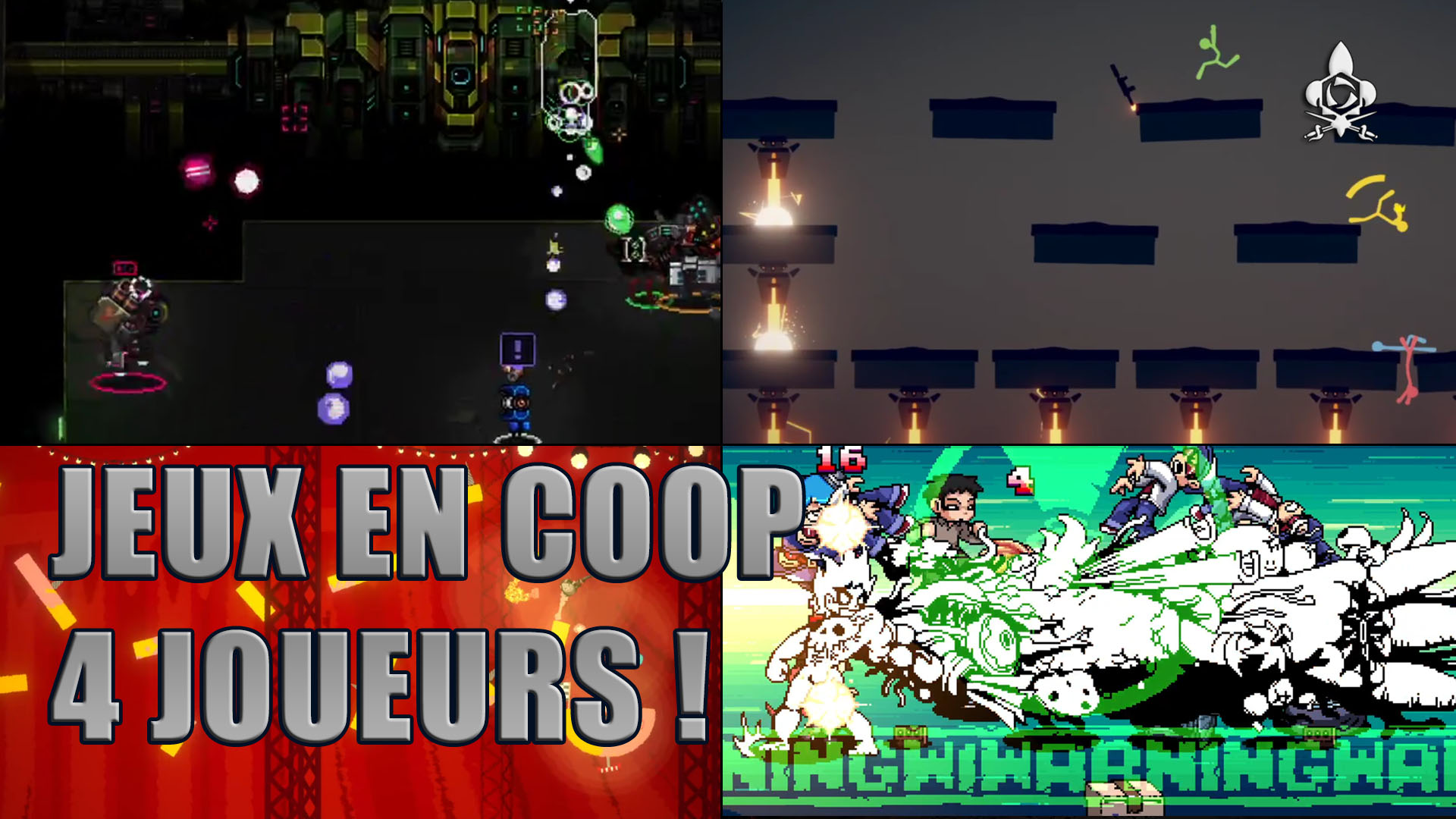4 top local and online four-player co-op games in 202