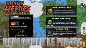 Pirate Rogue Heroes how to unlock the class