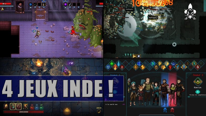 4 top indie games to play in 2021, rogue-lite, hns and scroller