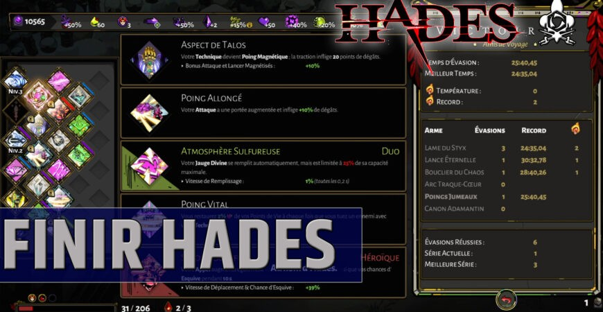 Terminer facilement Hadès guide complet