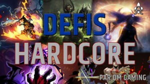 Announcement, the Hardcores Challenges by Dm Gaming