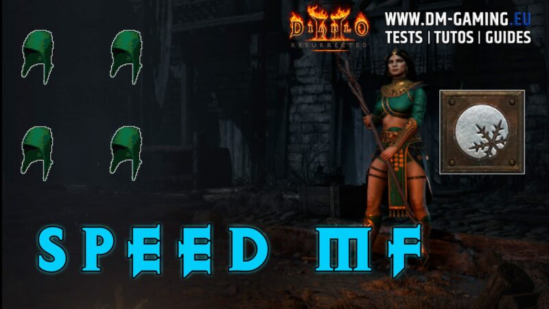 Build Cold Witch MF on Diablo 2 Resurrected