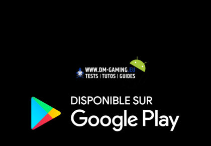 Dm Gaming disponible Google Play Android !